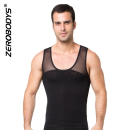 ZEROBODYS Powerful Mens Body Shaper 170g Powernet Vest