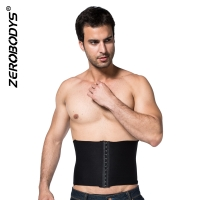ZEROBODYS Incredible 23cm High 3 Row Hook Eye Closure Waist Cincher