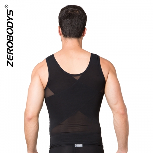 ZEROBODYS Powerful 170g Powernet 3 Row Hook Eye Closure Vest