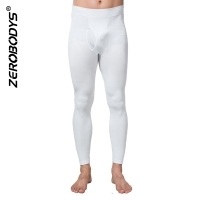 ZEROBODYS Comfortable Mens Body Shaper HEATMAX Long Underpants