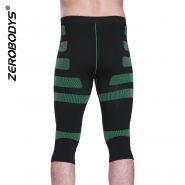 ZEROBODYS Outdoor Quick Dry Bicolor Training Capris